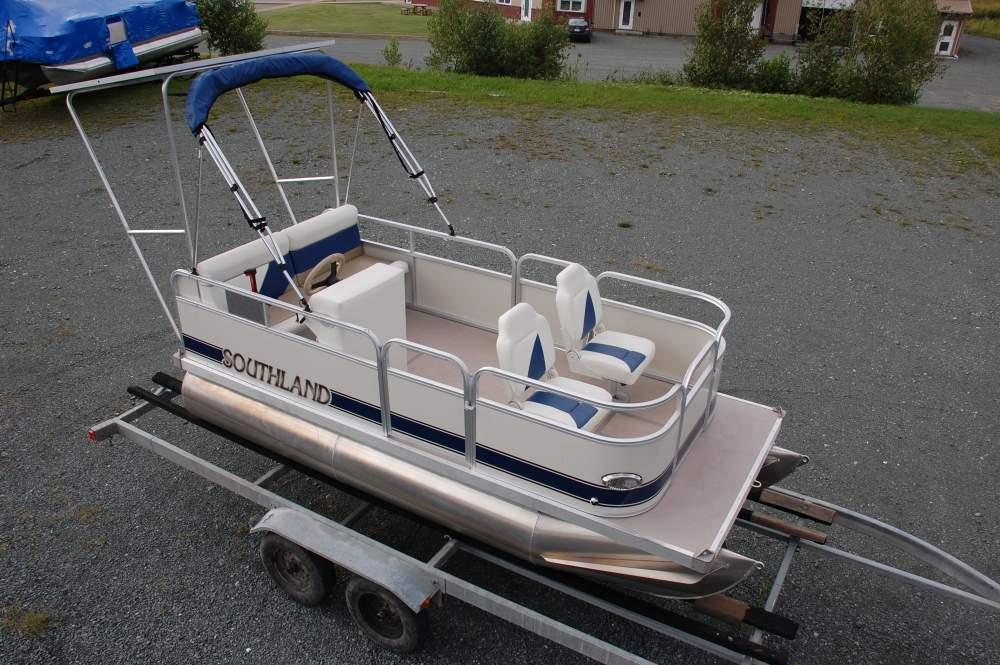 Electric Pontoon Boats Bing Images