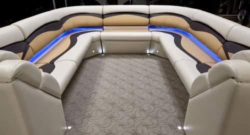 Bateau ponton for Pontoon boat interior designs